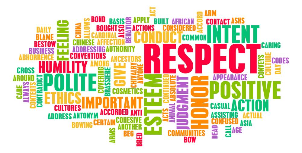 Respect yourself! Und alle anderen auch.