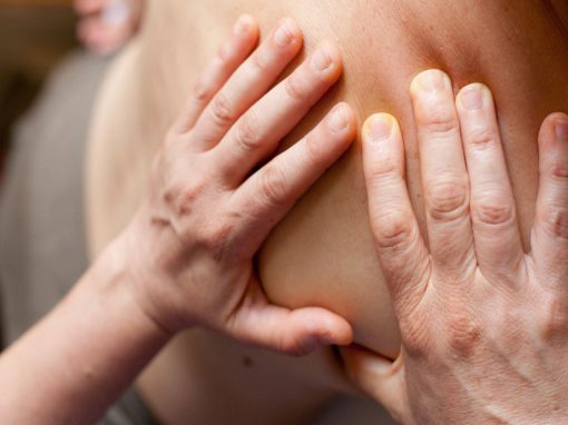 Massage und Fußreflexzonenmassage